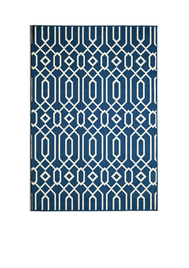 Momeni Baja Crown Navy Area Rug
