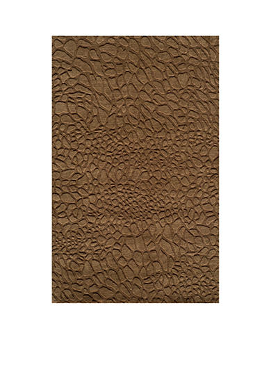 Momeni Gramercy Pebbles Brown Area Rug