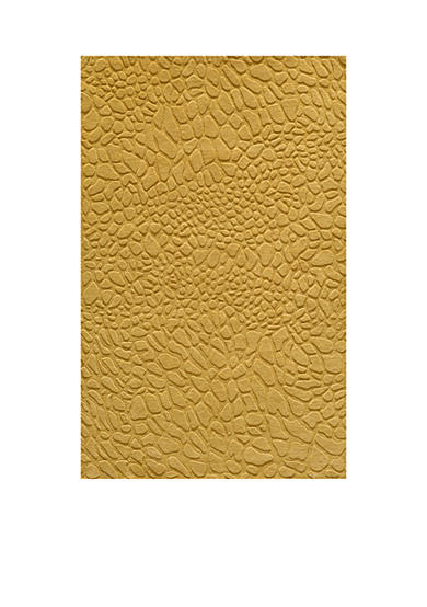 Momeni Gramercy Pebbles Gold Area Rug