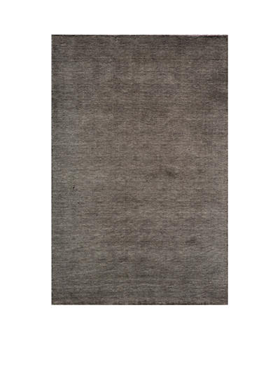 Momeni Gramercy Solid Charcoal Area Rug