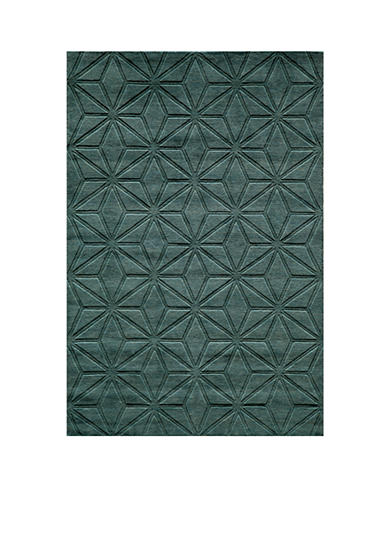 Momeni Gramercy Diamonds Blue Area Rug