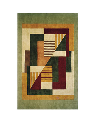 Momeni New Wave Maple Multi Area Rug
