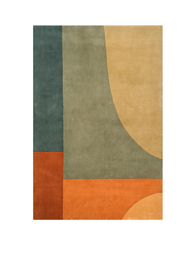 Momeni New Wave Tibet Multi Area Rug