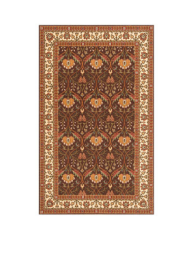 Momeni Persian Garden Meadow Cocoa Area Rug
