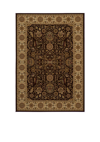 Momeni Royal Castle Brown Area Rug