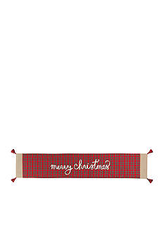 Mud Pie Tartan Christmas Table Runner