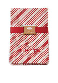 Mud Pie Holiday Napkin Set