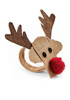 Mud Pie Reindeer Napkin Ring