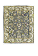 Solomon Pewter Area Rug 4' x 6'