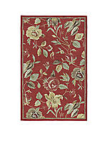 "Khazana Red Area Rug 2'3"" x 7'6"""