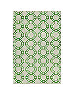 Brisa Lime Green Area Rug 111 x 3