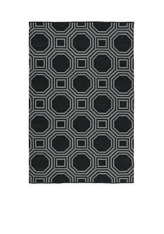 Kaleen BRISA COLLECTION BLACK 2' X 6'