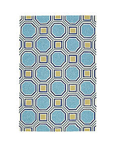 Kaleen ESCAPE COLLECTION BLUE 2' X 3'