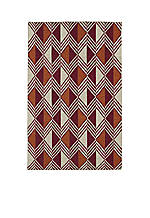 "Nomad Red Area Rug 3'6"" x 5'6"""