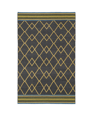 Kaleen Nomad Charcoal Area Rug