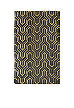 "Revolution Yellow Area Rug 2'3"" x 8'"
