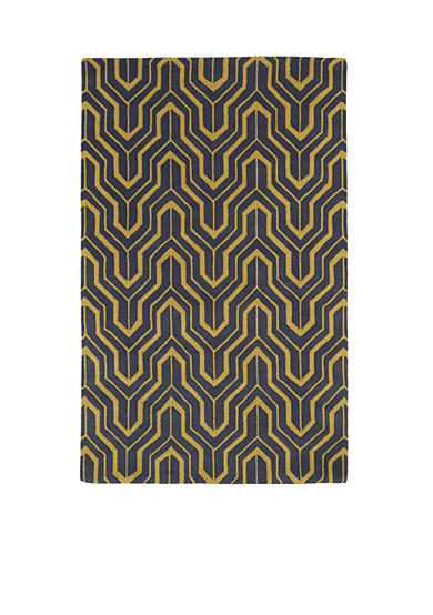 Kaleen Revolution Yellow Area Rug