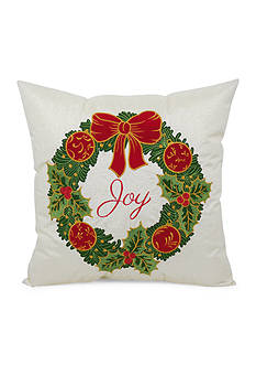 Arlee Home Fashions Inc.™ Wreath Decorative Pillow