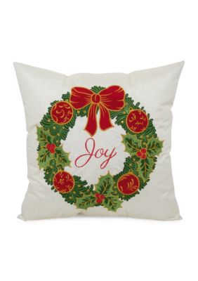Arlee Decorative Body Pillow : Arlee Home Fashions Inc. Wreath Decorative Pillow Belk