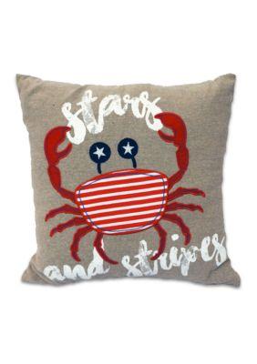 Arlee Decorative Body Pillow : Arlee Home Fashions Inc. Stars and Crab Burlap Decorative Pillow Belk
