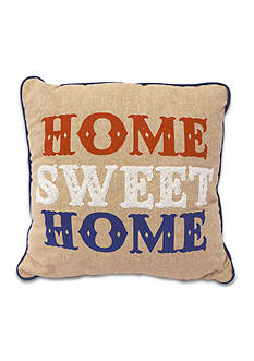 Arlee Home Fashions Inc.™ Home Sweet Home Decorative Pillow