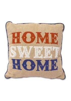 Arlee Decorative Body Pillow : Arlee Home Fashions Inc. Home Sweet Home Decorative Pillow Belk