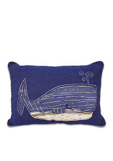 Arlee Home Fashions Inc.™ Wally Whale Decorative Pillow