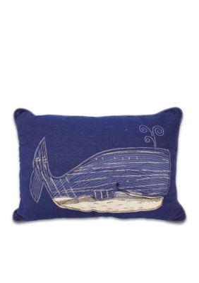 Arlee Decorative Body Pillow : Arlee Home Fashions Inc. Wally Whale Decorative Pillow Belk