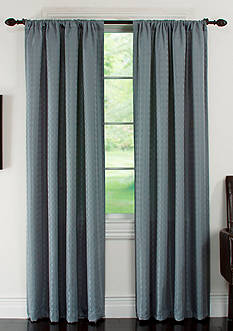 Arlee Home Fashions Inc.™ Lynette Geometric Jacquard Blackout Grommet Panel