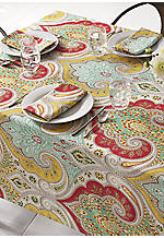Echo Jaipur Tablecloth 70-in. Round
