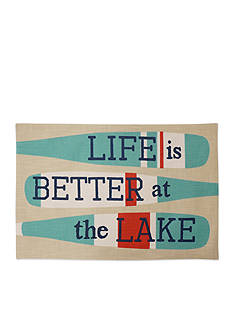 Arlee Home Fashions Inc.™ Life Is Better At The Lake Placemat