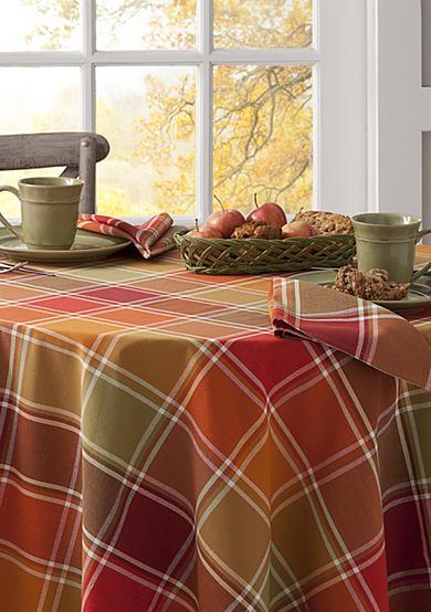 Arlee Home Fashions Inc Jada Plaid Table Linens Belk