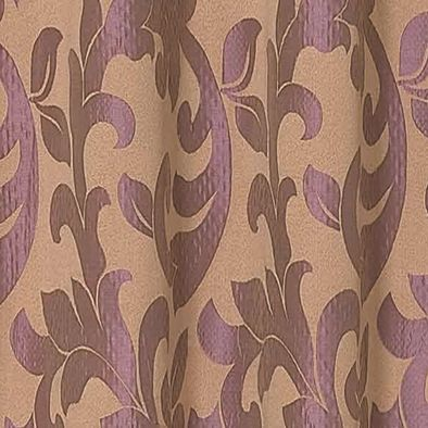 Patterned Curtains: Lilac Dainty Home Pali Window Panel Pair