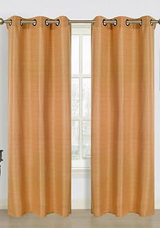 Dainty Home Blended Silk Panel Pair