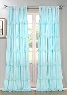 Dainty Home Festival Ruffle Window Panel Collection