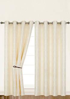 Dainty Home Helen Window Panel Pair