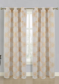 Dainty Home Isabella Window Panel Pair