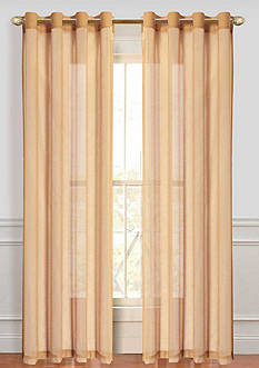 Dainty Home Malibu Sheer Window Panel Pair