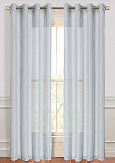 Dainty Home Malibu Sheer Window Panel Pair