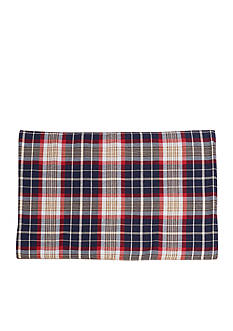 HiEnd Accents South Haven Blue Plaid Placemat