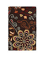 Athena Chocolate Area Rug 2' x 3'