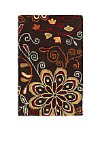 Athena Chocolate Area Rug 4' x 4'