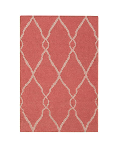 SURYA Fallon Burgundy Area Rug
