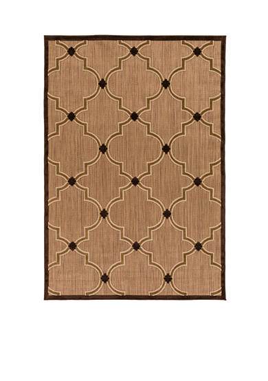 SURYA Portera Chocolate Area Rug
