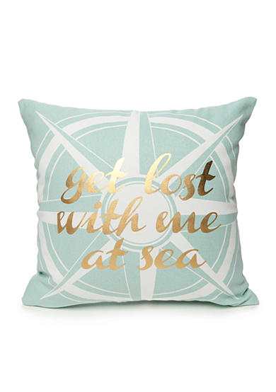 Elise & James Home™ Get Lost With Me At Sea Pillow