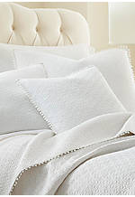 Highland Park White Decorative Pillow 18-in. x 18-in.