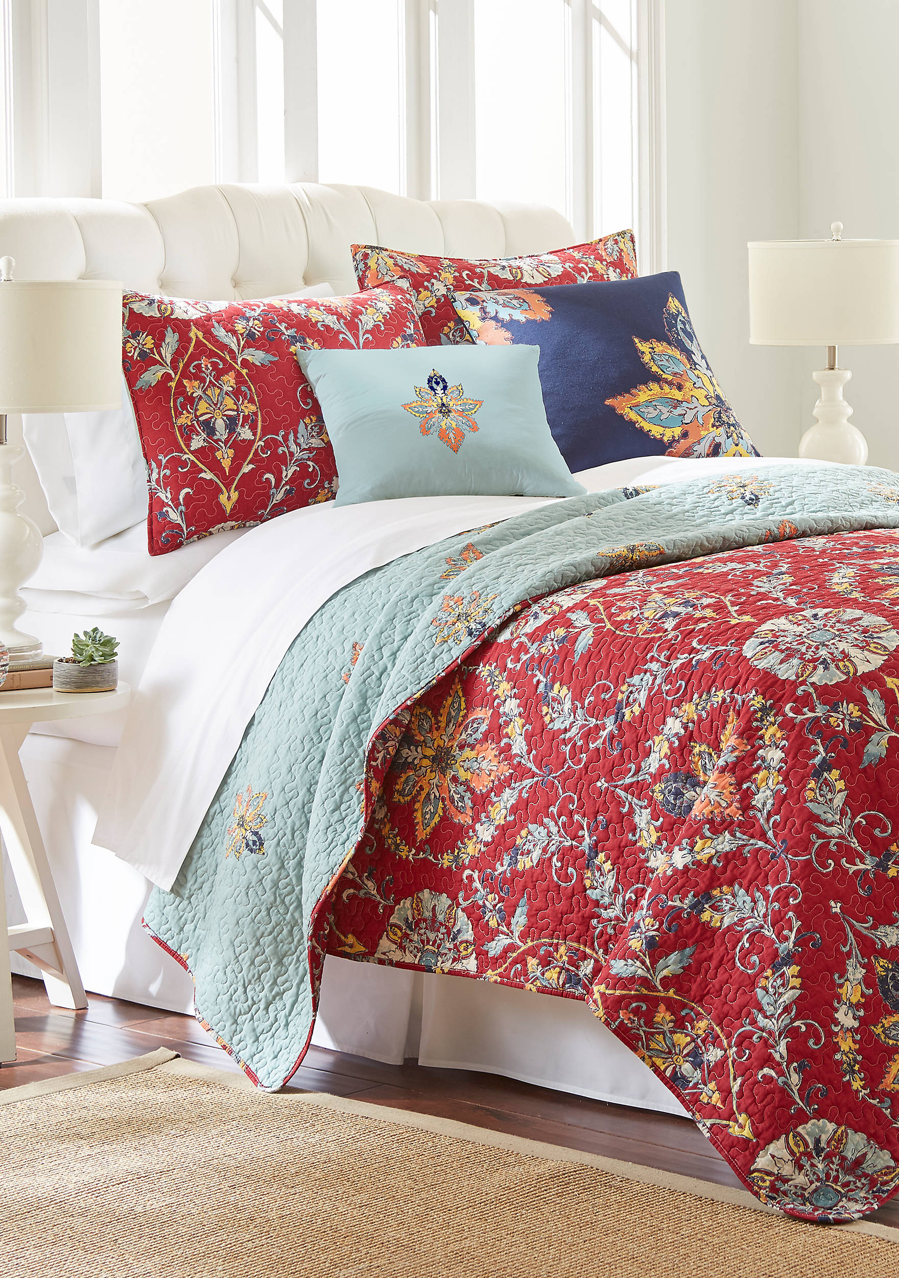 Quilts | belk : red quilts bedding - Adamdwight.com