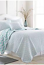 Mila Medallion Reversible King Quilt
