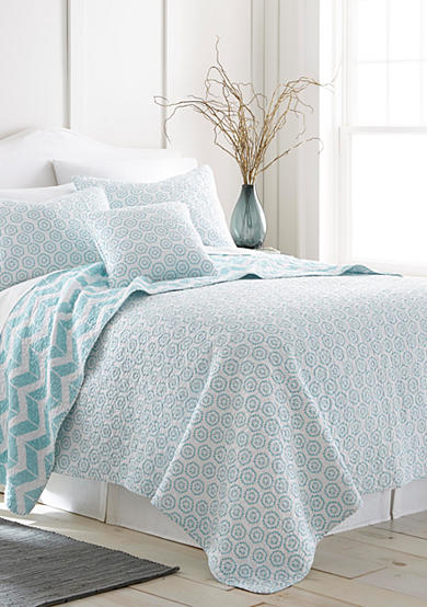 Elise & James Home™ Mila Medallion Reversible Quilt Collection