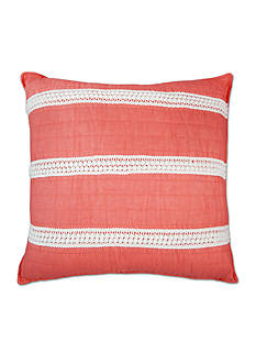 Elise & James Home™ Mini Poms Coral Decorative Pillow